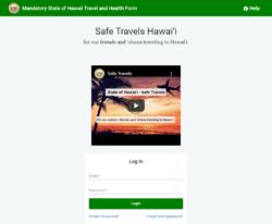 渡航者は義務化となったセーフ・トラベルズ・アプリケーション(Safe Travels Application)