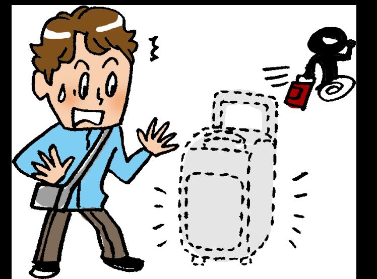 27人に一人が海外旅行中に何らかの事故に遭っている